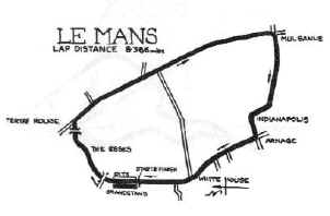 LeMans in 1957